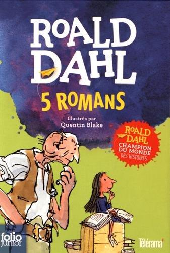5 romans : Coffret en 5 volumes : Sacrées sorcières ; La potion magique de Georges Bouillon ; Matilda ; Charlie et la chocolaterie ; Le BGG par Roald Dahl, Collectif