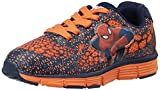 Spiderman Boy's Navy and Orange Sports Shoes - 8 kids UK/26 EU