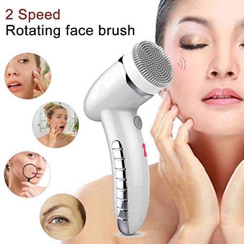 Coseyil Elektrische Gesichtsreinigungsbürste Instrument USB wiederaufladbare sanfte Peeling-Tiefenreinigung Entfernen von Mitesser Dirt Face Beauty Massager