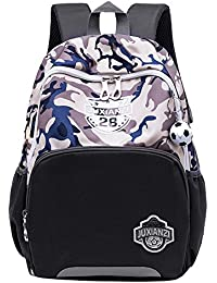 38ae0a1731 Fanci Camo Football Waterproof Toddler School Backpack Book Bag for Boys  Primary School Rucksack Travel