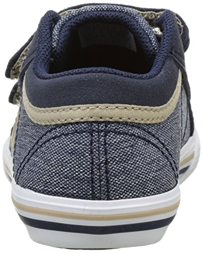 Le Coq Sportif Saint Gaetan Inf Craft 2 Tones, Basses Mixte Enfant Bleu (Dress Blue/Sésame)