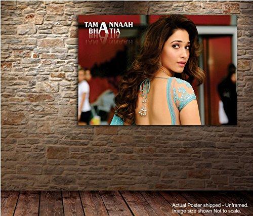 Tamatina Actress Wall Poster - Tamanna Bhatia - Bollywood Actress - Large...