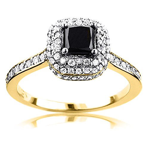unique-white-and-black-diamond-halo-engagement-ring-10k-gold-by-luxurman-yellow-gold-size-10