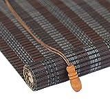 LIGHT YEARS Rolltor- Vorhang, Bambus Vorhang Innen- und Außensonnenschutz Wind und Regen Multifunktions Heben Balkonrollo (Farbe : C, größe : 80x200cm)