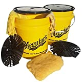 NEW 2017 Meguiars Twin Swirl Free Paint Professional Car Wash Bucket Ultimate Kit