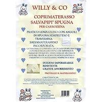Coprimaterasso Brevi Dolce Nanna Plus Azzurro Materasso Willy & Co Campeggio