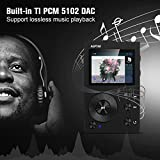 from AGPTEK AGPTEK HIFI MP3 Player with Bluetooth High Resolution APTX Lossless Digital Audio Player with 16GB Memory Card,Support up to 256GB, Music Player Black Model H3-UK