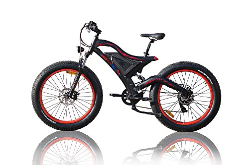 500 W bafang Hub Motor Fat Wheel Ebike 26 X 4.0 Tire + Big Power 11,6 AH lithiun Battery + LCD DISPLAY + grasso e della bici bicicletta elettrica 26 pollici 4.0 Fat maturo