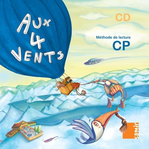 Aux 4 vents : Méthode de lecture CP - CD