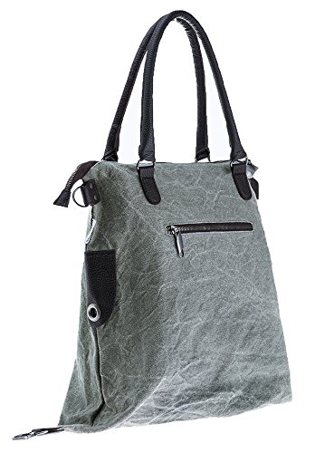 Bags4Less  F3151, sac bandoulière femme, Washed-Braun (marron) - F3151_418 Washed-Grau