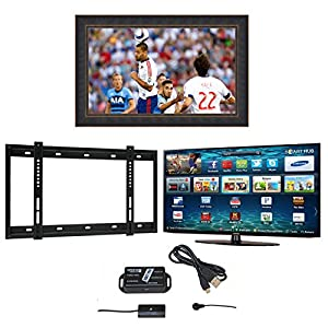 New York Samsung Widescreen Full HD Smart LED Television, New York TV Mirror Frame, Wall Bracket and Infra Red Extender with 5 Years Manufacturer's Warranty