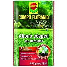 Compo 1335012011 - Abono césped floranid con herbicida de 500 gr