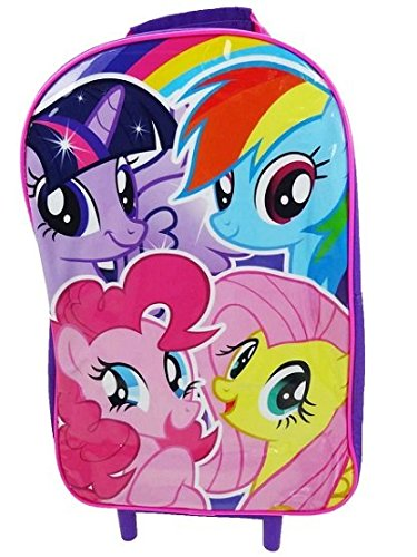 My Little Pony Kinder Gepäck, Multicolor (multicolor) - MLP001032 (Pony-koffer My Little)
