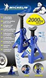 Michelin 92417/009557 Set Cavalletti, Capacità di Collevamento 2000 kg