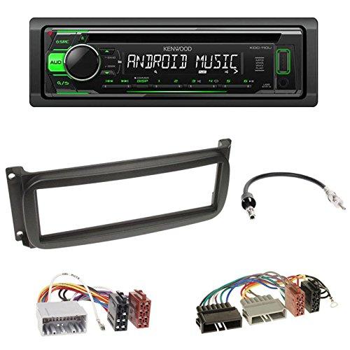 radioeinbauset-kenwood-kdc-110ug-usb-cd-receiver-mit-gruner-tastenbeleuchtung-1-din-radioblende-in-s
