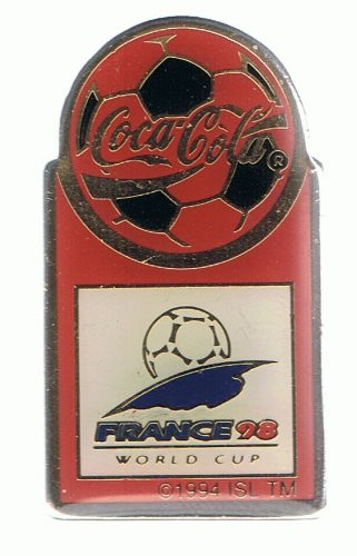 Coca Cola - France 98 - World Cup - Pin -