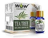 WOW Essential Tea Tree Oil - 15 ml (Pack...