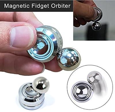 DIAOWEI 2017 Orbiter Fidget Spinner Magnet Hand Spinner Roll Gyro EDC Focus Toys Gifts
