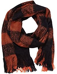 TOM TAILOR Denim Damen Schal cosy check - scarf/510