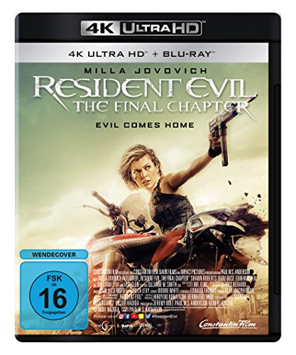 Resident Evil: The Final Chapter (4K Ultra HD) (+ Blu-ray)