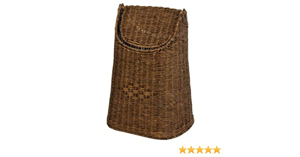 korb.outlet De Paper Vintage Brown Swing Hand-Woven Rattan