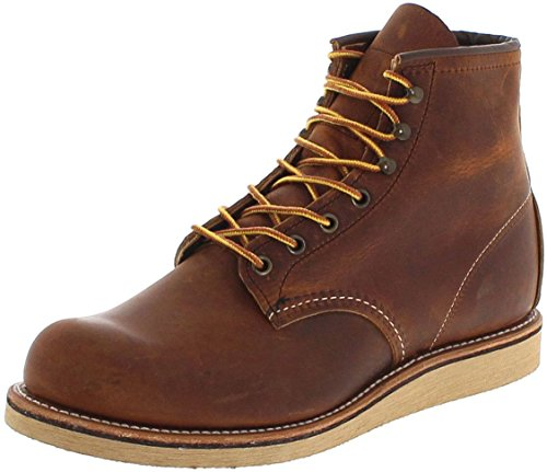 Herren Wing-chukka-stiefel Red (FB Fashion Boots Red Wing Shoes Rover 2950 Copper/Herren Schnürstiefel Braun/Work Boots/Chukka Boots, Groesse:45 (11.5 US))