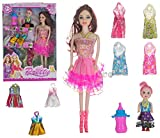 Best Girls Dolls - Wish key Plastic Baby Doll with Designer Dresses Review