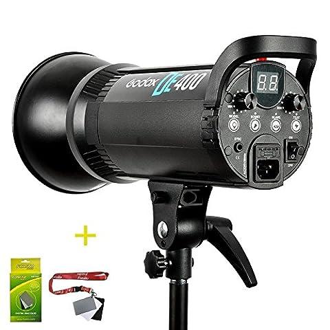 Fomito Godox DE400 400W Compact Studio Flash Light Strobe Lighting Lamp Head 220V 400ws