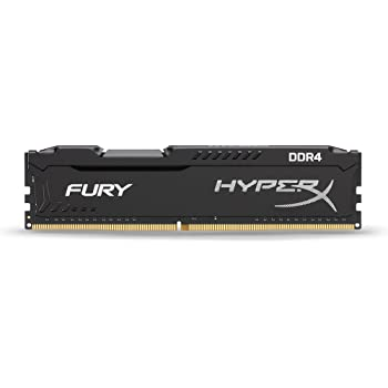 HyperX Fury Black 8GB 2133MHz CL14 DDR4 Internal Memory