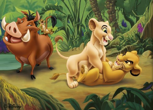 jigsaw-puzzle-60-pieces-the-lion-king-and-his-friends-by-nathan