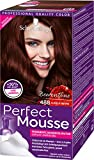 Schwarzkopf Perfect Mousse Permanente Schaumcoloration, 488 Dunkle Beere Stufe 3, 3er Pack (3 x 93 ml)