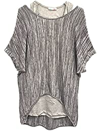 Emma & Giovanni - Top deux pièces ( Débardeur + T-shirt ) - Femme