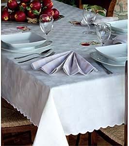 Tovaglia da tavola dama rettangolare 12 posti copritavolo - Tovaglie da tavola plastificate ...