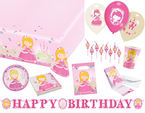 (Amscan 9050 0320 Party Set Geschirr Princess)