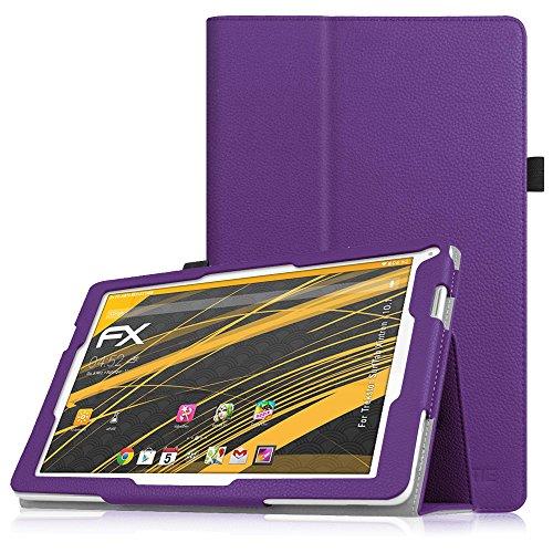 Fintie TrekStor SurfTab xintron i 10.1 Hülle Case - Slim Fit Folio Kunstleder Schutzhülle Cover Tasche mit Ständerfunktion für TrekStor SurfTab xintron i 10.1 (25,7 cm (10,1 Zoll) wi-fi Tablet (nicht geeignet für TrekStor SurfTab xintron i 10.1 3G Tablet), Violett
