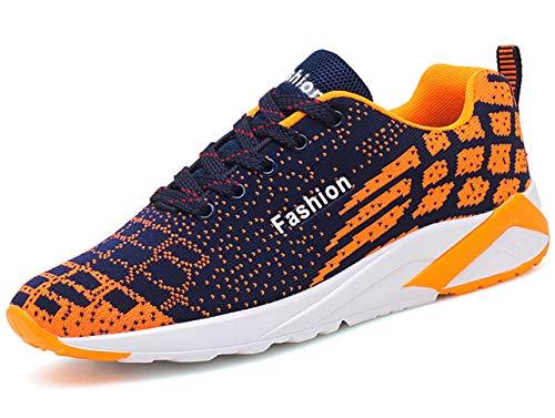 GJRRX Hombre Zapatillas de Deporte Gimnasio Running Casual Zapatos Sneakers para 39-44