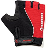 Tenn-Outdoors Men's Fingerless Cycling Gloves Mitts