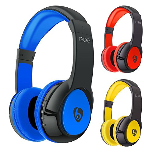 MacBerry professional stereo bluetooth headphones with mic & Tf card (2 Year warranty)