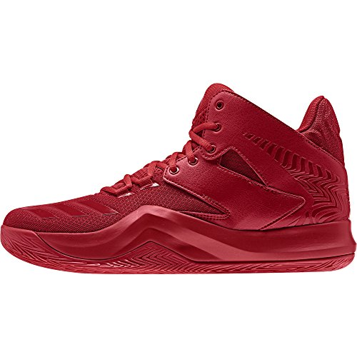 adidas D Rose 773 V, Scarpe da Basket Uomo rouge foncé/rouge foncé/rouge foncé