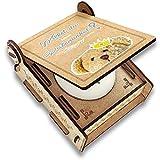 CANDLE in the BOX Patenonkel Fragen | Geschenk-Box mit Botschaft & Kerze | Personalisiert mit Bild & Namen | Willst Du Mein Patenonkel Sein?