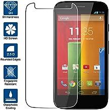 Beiuns Vidrio Templado Protector de Pantalla para Motorola Moto G
