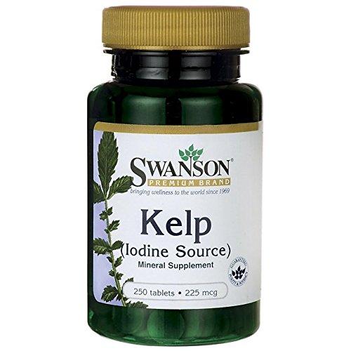 Swanson Kelp (225mcg, 250 Tablets) Test