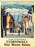 Old World Cornwall Metall Poster Retro Blechschilder