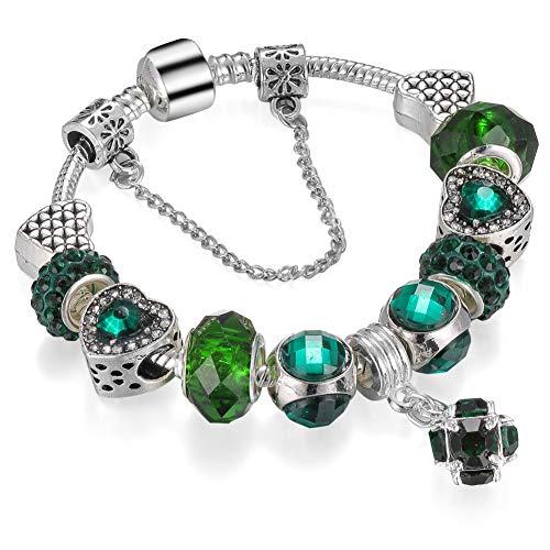 YCWDCS Armband zubehör großhandel Neue modeschmuck europäischen Charme schmuck fit DIY Armband für Frauen mit schönen Geschenk