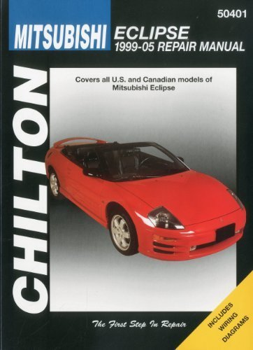 Mitsubishi Eclipse, 1999-2005 (Chilton's Total Car Care Repair Manuals) 1st edition by Chilton (2009) Taschenbuch