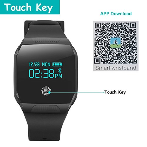 Willful-Bluetooth-Smart-Watch-Smart-Bracelet-Sports-Large-HD-IP67-Waterproof-Camera-Pedometer-Remote-Control-and-Playback-for-Gymnastics-Health-Sport-for-Android-and-iOS-smart-phone