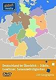 Deutschland im Überblick - Städte, Gewässer, Sehenswürdigkeiten: Geographie