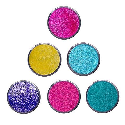 WOW. Embossing-Puder–Bright Kollektion Frühling Farben Blended–6x 15ml