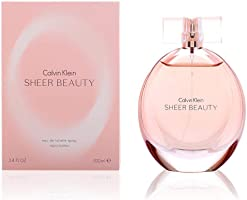 Calvin Klein Sheer Beauty for Women, 3.4 oz EDT Spray