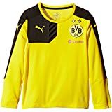 PUMA camiseta del Borussia Dortmund LS entrenamiento diseño del Borussia Dortmund Amarillo amarillo/negro Talla:164